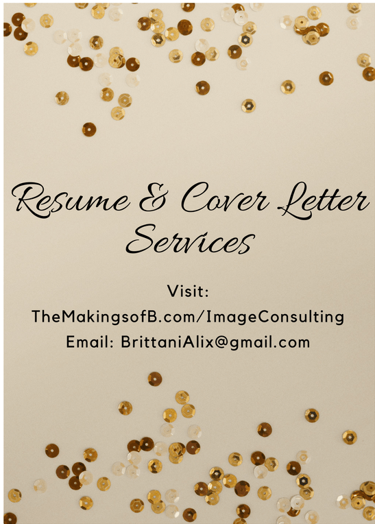 Being A Brand Content Creator And Image Consultant Consists Of The  Following: Resume And Cover Letter Assistance, Brand Development, Image  Consulting, ...